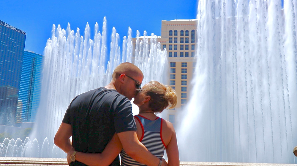 We feel like fountains go off every time we kiss!!
