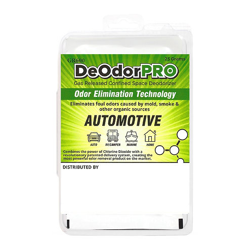 DeodorPRO: MGPR-25 for Automobiles