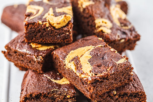 Peanutbutter Brownie Squares
