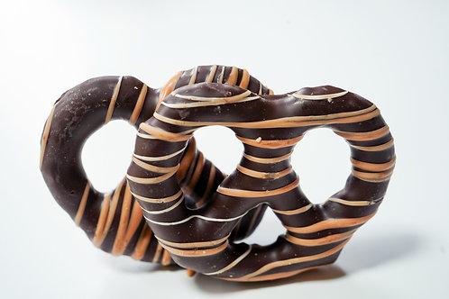 Milk Chocolate Gourmet Dipped Pretzels