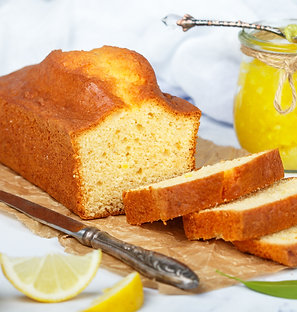 Lemon Drop Pound Cake Loaf