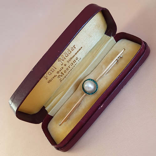 Vintage German Brooch Box