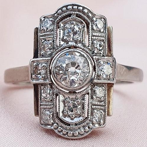 Essential Art Deco Diamond Ring
