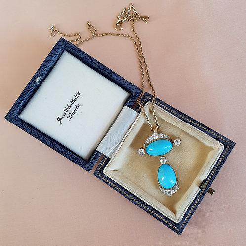 Early XXc James Usher & Son Jewelry Box
