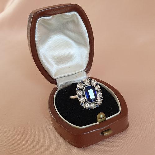 Mid XXc Brown Ring Box