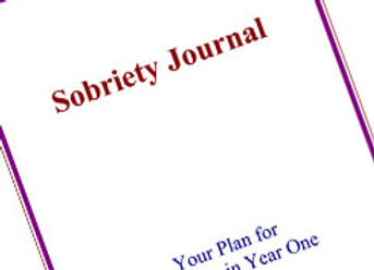 Sobriety Journal: Your Plan for Recovery in Year 1