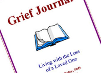 Grief Journal, Living with the Loss of a Loved One