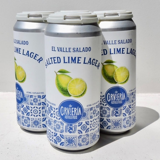 4 Pack - Salted Lime Lager