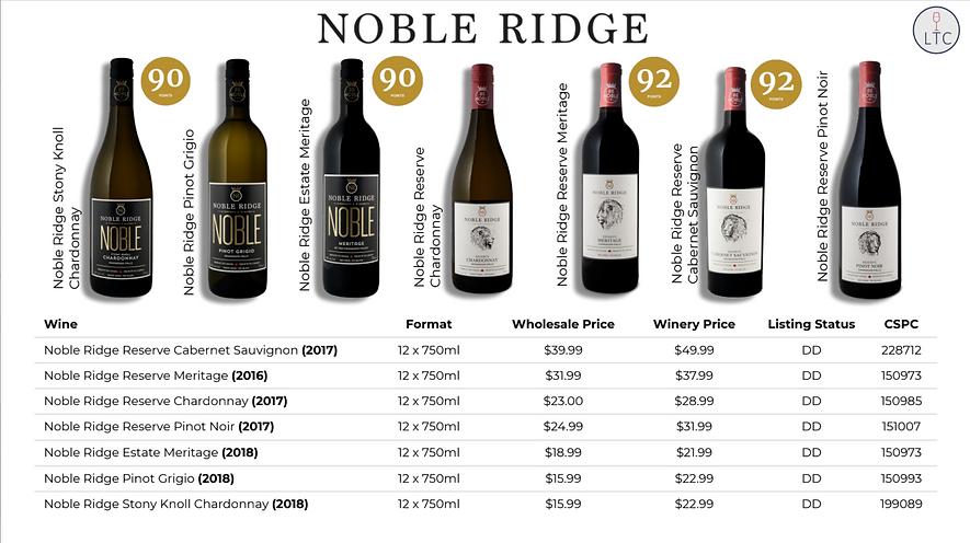 Noble Ridge