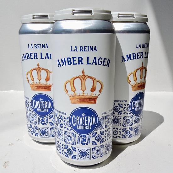 4 Pack - La Reina Amber Lager