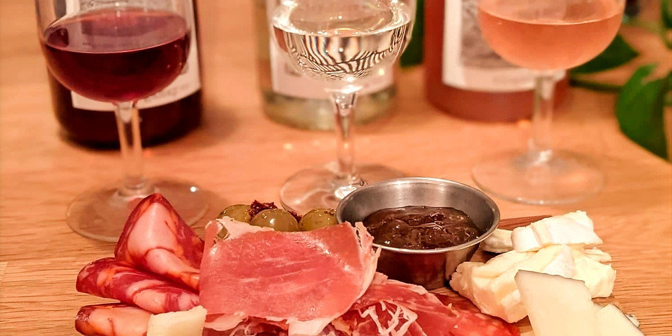 Valentine's Day Wine and Food Tasting Experience