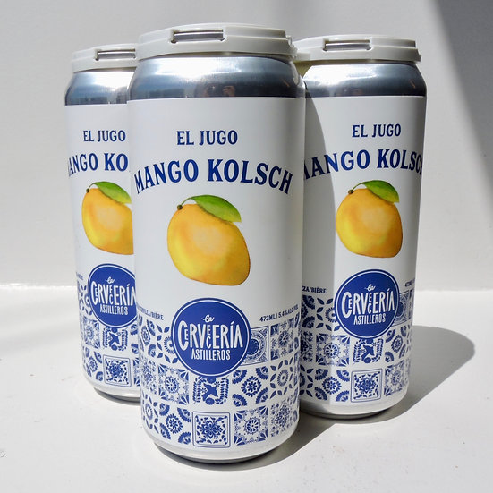 4 Pack - El Jugo Mango Kolsch