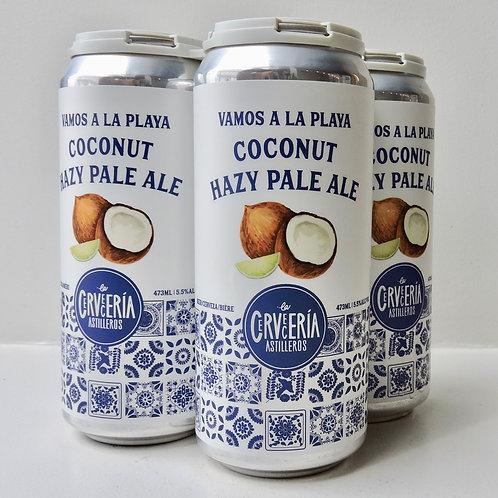 4 Pack - Vamos a la Playa Coconut Hazy Pale Ale