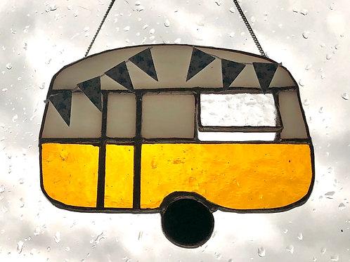 Retro style caravan