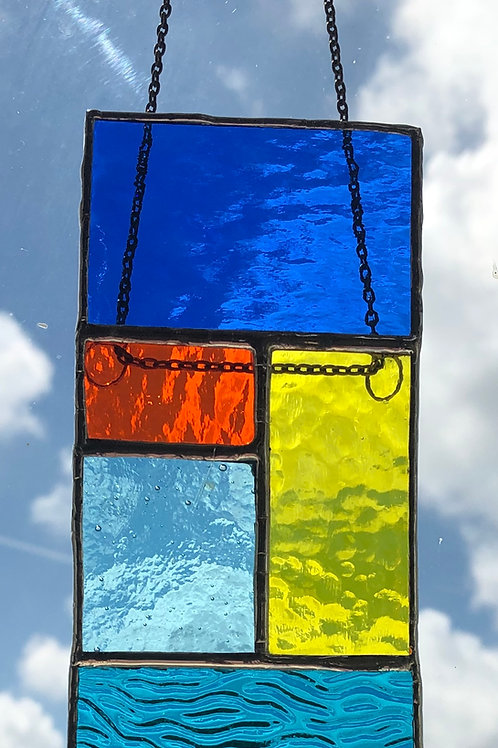 Abstract suncatcher