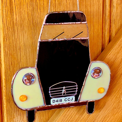 Stained glass 2CV