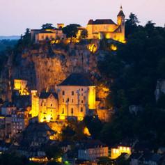 Rocamadour, la nuit