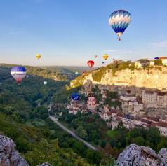 Les Montgolfières de Rocamadour