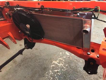 Nova radiator fabrication