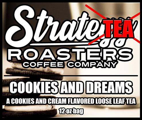 Cookies and Dreams, A Cookies and Cream Flavored Loose Leaf Black Tea