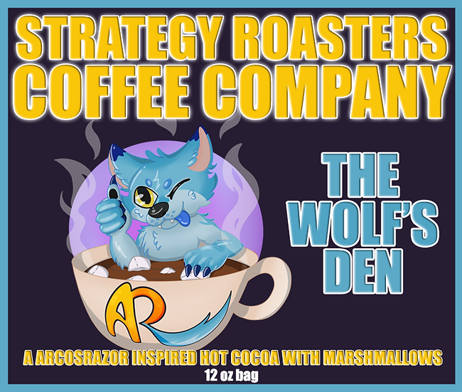 """THE WOLF'S DEN"" A ARCOSRAZOR Inspired Hot Cocoa with Marshmallows"