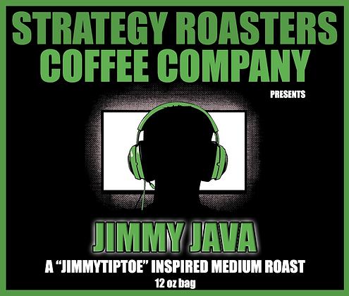 Jimmy Java, A JimmyTiptoe Inspired Medium Roast