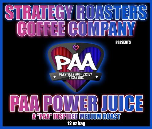 PAA Power Juice, A PAA Inspired Medium Roast