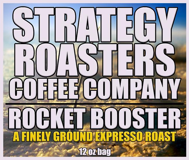 Rocket Booster Expresso Roast Coffee (Ground) 12oz