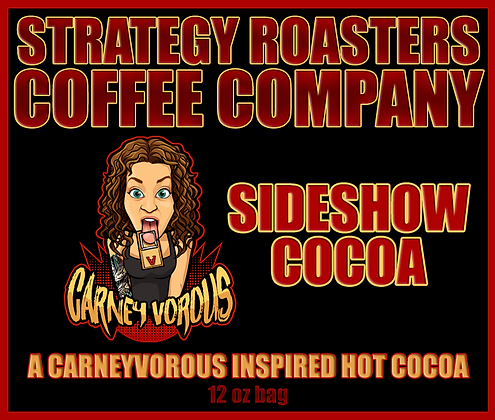 Sideshow Cocoa, A CarneyVorous Inspired Hot Cocoa