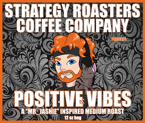 """POSITIVE VIBES"" A Mr_Jashie Inspired Medium Roast"