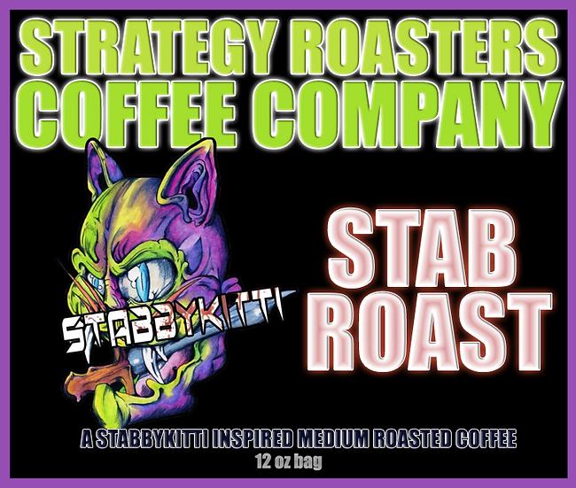 """STAB ROAST"" A STABBYKITTI Inspired Medium Roast"
