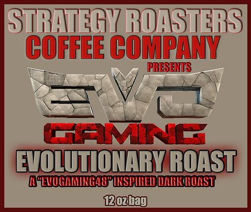"""EVOLUTIONARY ROAST"" A EvoGaming48 Inspired Dark Roast"