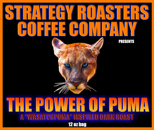 The Power of Puma, A WasatchPuma Inspired Dark Roast