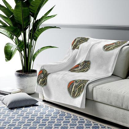 PeaceAndTurtle Velveteen Plush Blanket