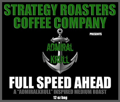 Full Speed Ahead, A AdmiralKrull Inspired Medium Roast