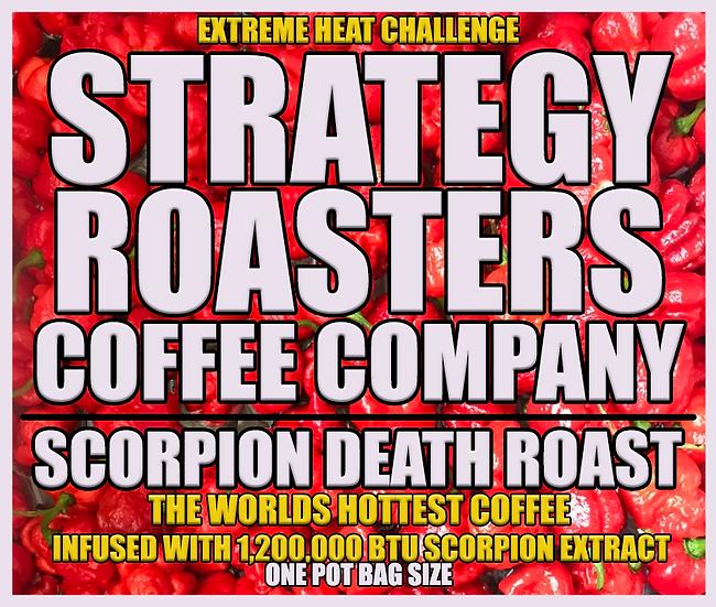 Scorpion Death Roast: The Worlds Hottest Coffee