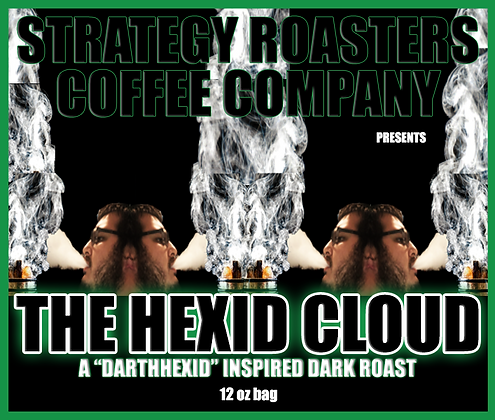 The Hexid Cloud, A DarthHexid Inspired Medium Roast