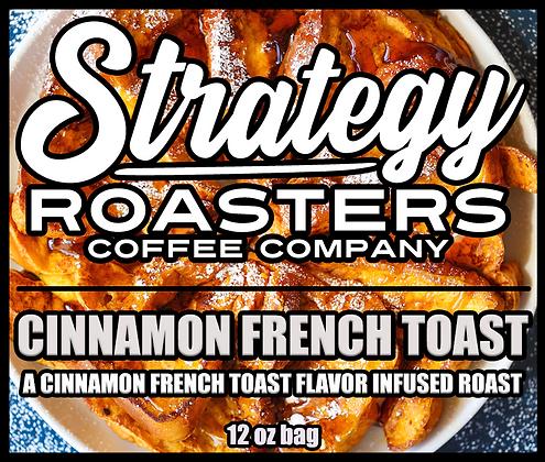 Cinnamon French Toast, a Cinnamon French Toast flavor infused roast