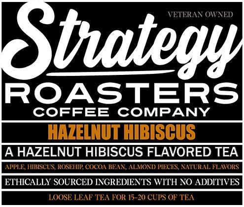 Hazelnut Hibiscus, A Hazelnut and Hibiscus Flavored Loose Leaf Black Tea