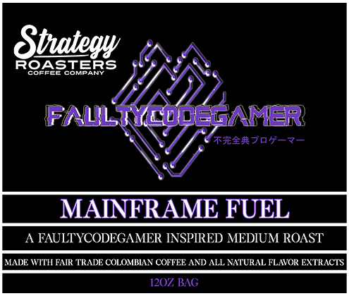 Mainframe Fuel, A FaultyCodeGamer Inspired Medium Roast