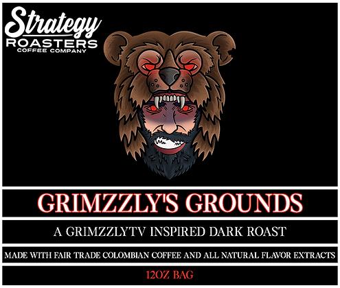 Grimmzzly's Grounds, A GrimzzlyTV Inspired Dark Roast