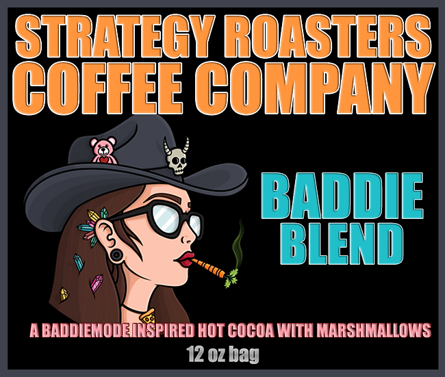 """""""BADDIE BLEND"""" A BADDIEMODE Inspired Hot Cocoa with Marshmallows"""