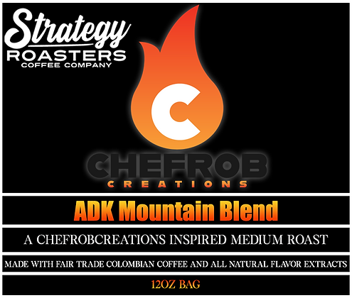 ADK Mountain Blend, A ChefRobCreations Inspired Medium Roast
