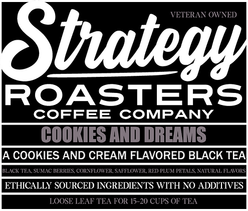 Cookies and Dreams, A Cookies and Cream Flavored Loose Leaf Black Tea