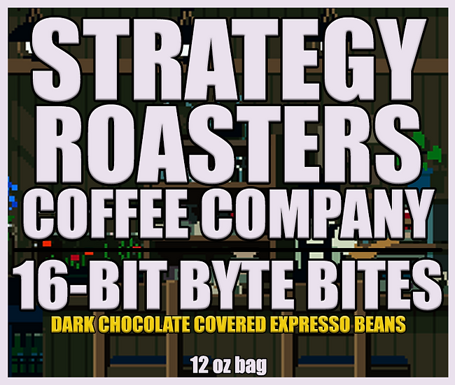 16-Bit Byte Bites Chocolate Covered Expresso Beans