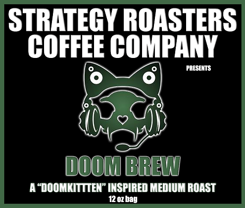 Doom Brew, A DoomKitten Inspired Medium Roast