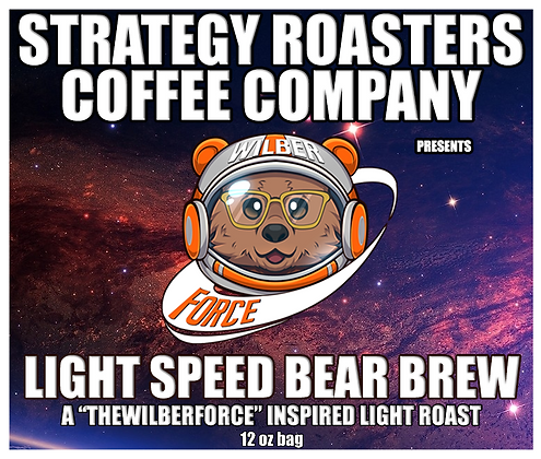 Light Speed Bear Brew, A TheWilberForce Inspired Light Roast