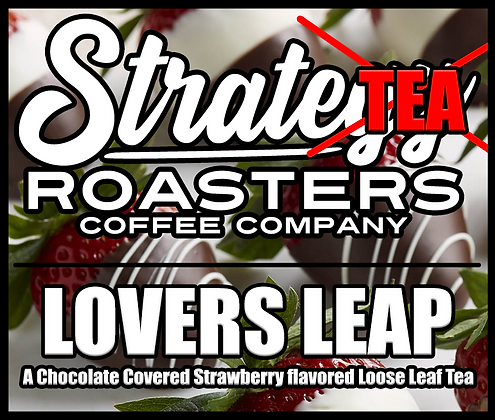 Lovers Leap, A Chocolate Covered Strawberry flavored Loose Leaf Tea