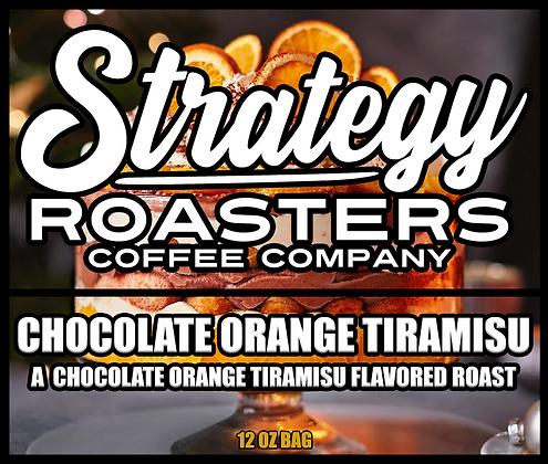 Chocolate Orange Tiramisu, A chocolate orange tiramisu flavored Roast
