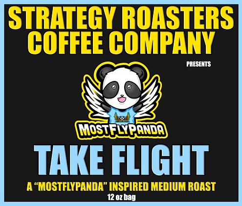 """TAKE FLIGHT"" A MOSTFLYPANDA Inspired Medium Roast"